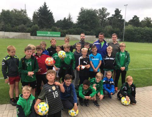 Fußballcamp beim SC Eltersdorf 2017